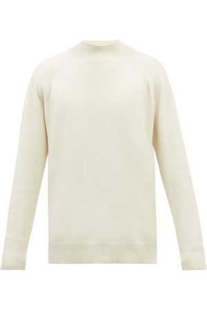 Raey Recycled-cashmere Blend Turtle-neck Sweater - Mens - Ivory