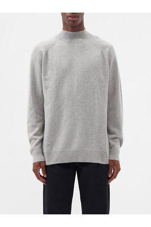 Raey Men Turtlenecks - Recycled-cashmere Blend Turtle-neck Sweater - Mens - Light