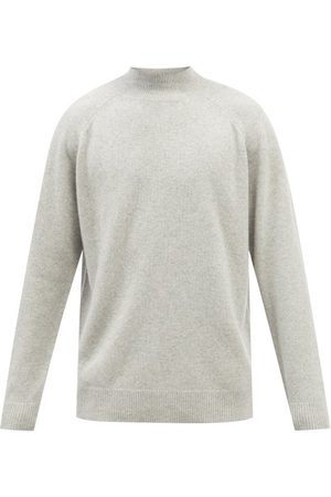Raey Recycled-cashmere Blend Turtle-neck Sweater - Mens - Light