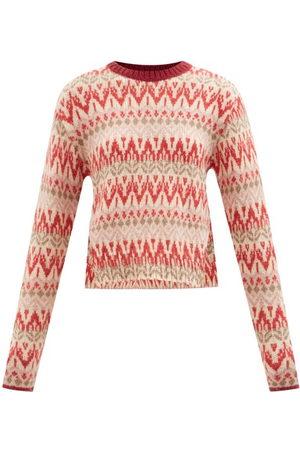 Moncler Women Sweaters - Fair Isle Sweater - Womens - Multi
