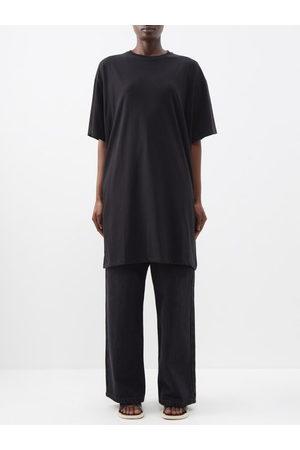 Raey Women Dresses - Recycled-yarn Knee-length T-shirt Dress - Womens