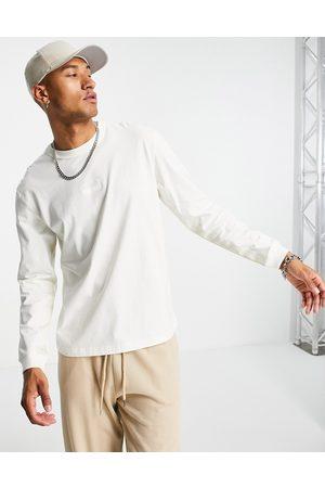 adidas Originals RYV long sleeve t-shirt in off