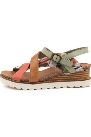 Django & Juliette Women Sandals - Beck Dj Sandals Womens Shoes Casual Sandals Flat Sandals
