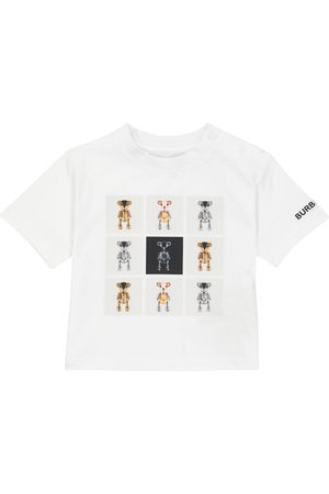 Burberry Kids T-shirts - Baby Thomas Bear cotton T-shirt