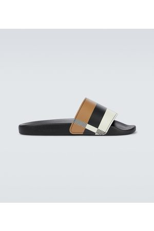 Burberry Men Sandals - Furley checked slides