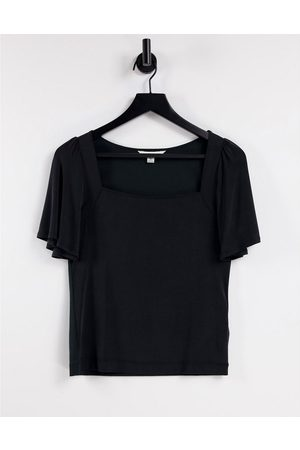 Whistles Women Tops - Square neck cupro top in