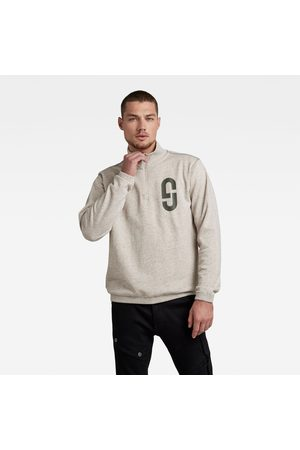G-Star GS Logo Half Zip R Sweater