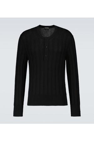 Tom Ford Exclusive to Mytheresa – cashmere and silk Henley sweater