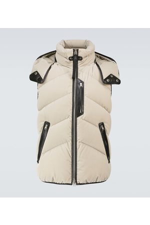 Tom Ford Hooded down-filled gilet