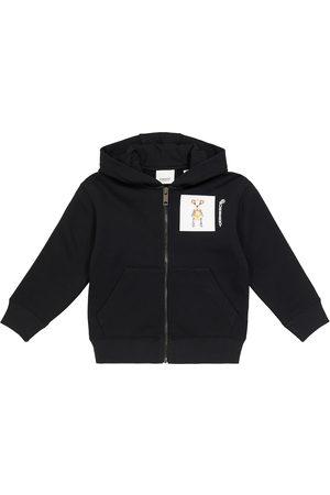 Burberry Kids Printed cotton hoodie