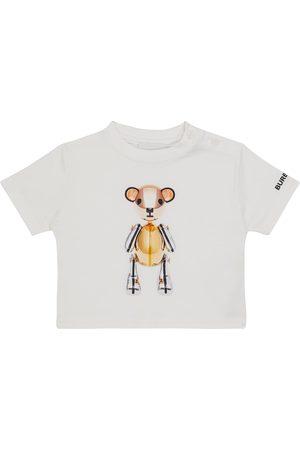 Burberry Kids Baby printed cotton T-shirt