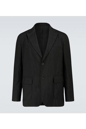 COMME DES GARÇONS HOMME Single-breasted wool-blend blazer