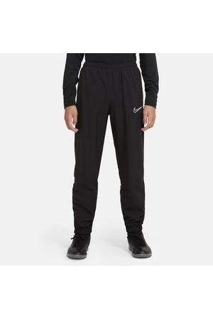 Nike Sports Pants - Dri-FIT Academy Older Kids' Woven Football Tracksuit Bottoms