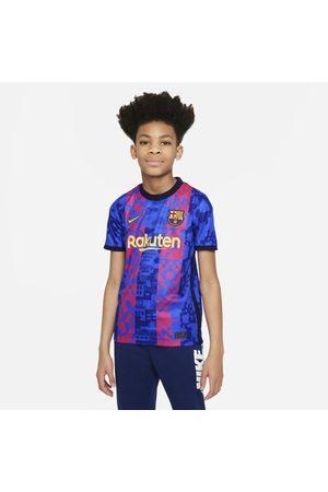 Nike F.C. Barcelona 2021/22 Stadium Third Older Kids' Dri-FIT Football Shirt