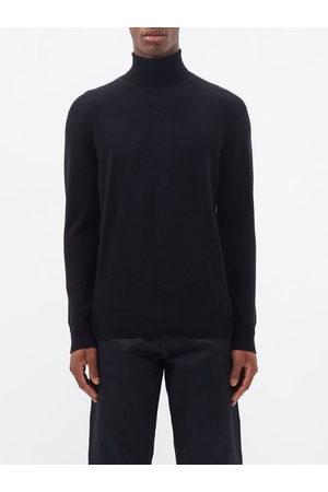 Raey Men Turtlenecks - Mercerised Merino Wool Roll-neck Sweater - Mens