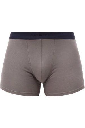 Zimmerli Men Briefs - Micromodal-blend Jersey Boxer Briefs - Mens