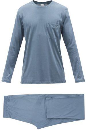 Zimmerli Sea Island Cotton Pyjamas - Mens - Light