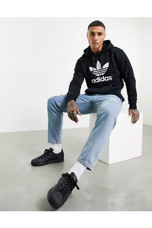 adidas Originals Men Hoodies - Adicolor hoodie with trefoil logo in