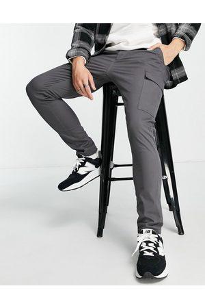 ASOS DESIGN Men Cargo Pants - Skinny cargo pants in washed black