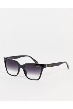 Quay Australia Quay CEO square women's sunglasses in with gradient lens