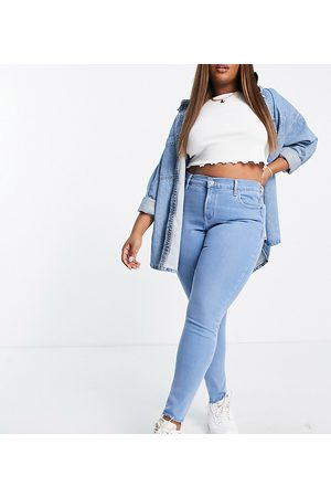 Levi's Plus 721 high rise skinny jeans in