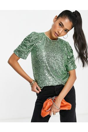 Whistles Women Blouses - Seema sequin top co-ord in