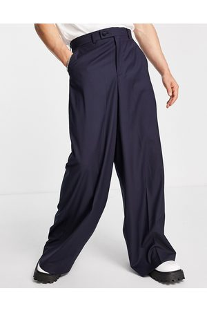 ASOS DESIGN Extreme wide-legged suit pants in