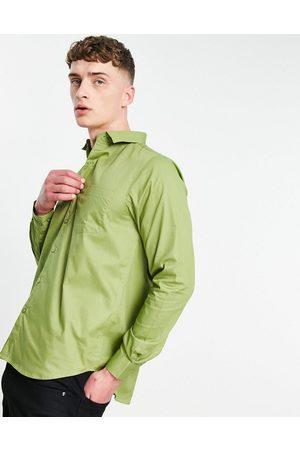 Bolongaro Trevor Classic slim fit shirt-Green
