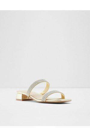 ALDO Biliwen double strap mid-heeled sandals in