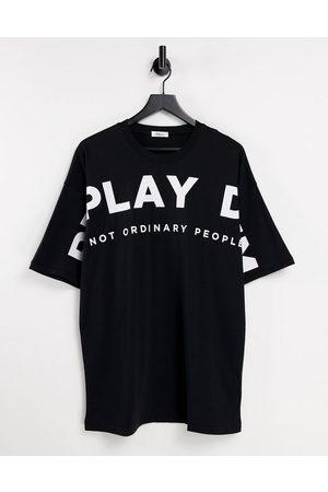 Replay Oversized logo t-shirt in