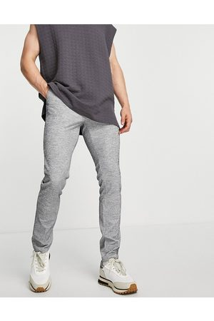 ASOS Skinny smart pants co-ord with drawcord waist in jersey rib