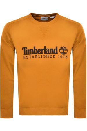 Timberland Crew Neck Logo Sweatshirt