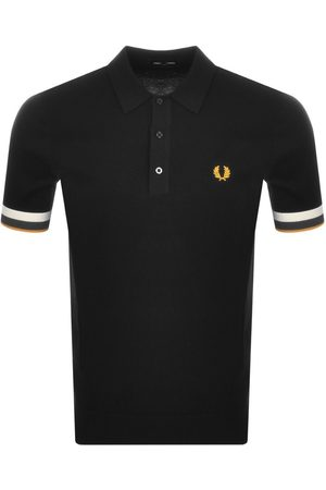 Fred Perry Men Polo Shirts - Striped Cuff Polo T Shirt