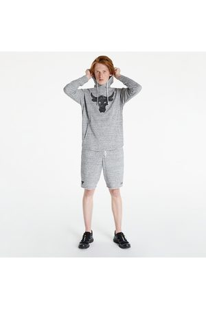Under Armour Project Rock Terry Hoodie Light Grey