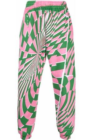 Stella McCartney Joggers - X Ed Curtis geometric pattern track pants