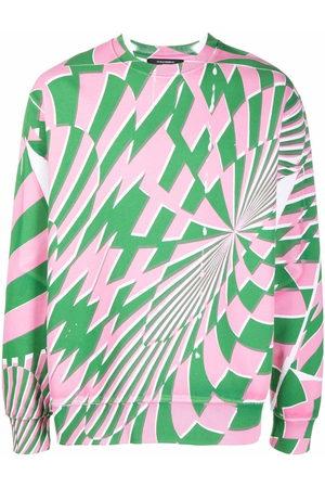 Stella McCartney Sweatshirts - X Ed Curtis geometric pattern sweatshirt