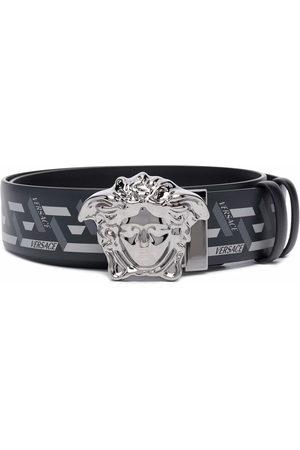 Versace Medusa Head Greca-print belt