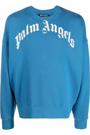 Palm Angels Curved-Logo sweatshirt