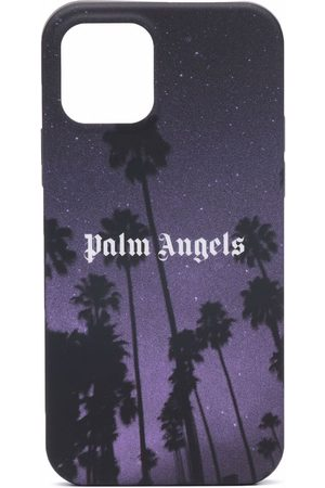 Palm Angels Stars and Palms print iPhone 12 Pro case