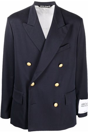 Palm Angels Archive double-breasted blazer