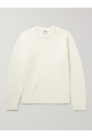Y-3 Logo-Jacquard Knitted Sweater