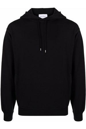 Salvatore Ferragamo Long-sleeved cotton hoodie