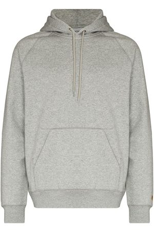 Carhartt Chase logo-embroidered hoodie