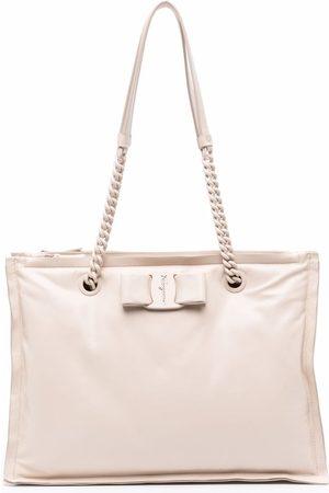 Salvatore Ferragamo Leather tote bag