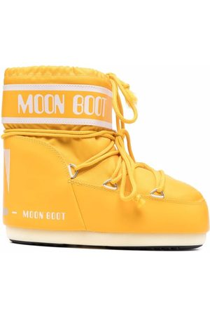 Moon Boot Logo print lace-up boots