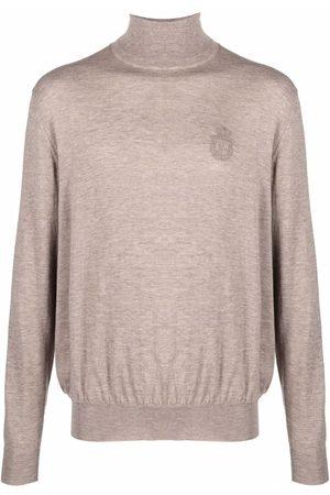 Billionaire Fine knit turtleneck jumper