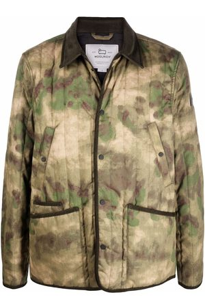 Woolrich Men Casual - Camouflage-print shirt jacket