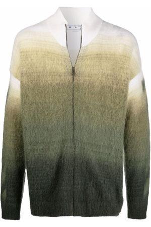 OFF-WHITE Arrows motif zip-up cardigan