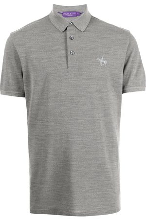 Ralph Lauren Purple Label Knight-embroidered polo shirt