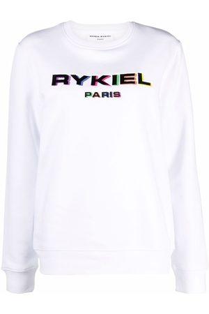 SONIA RYKIEL Logo-print crew neck sweatshirt
